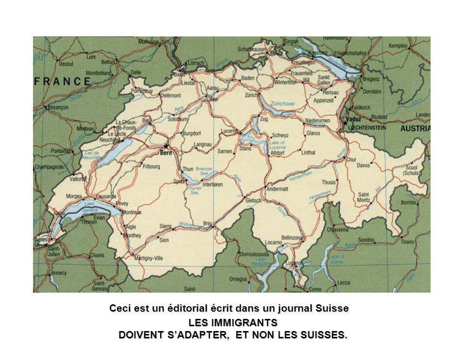 Message à tous les Suisses Confédérés