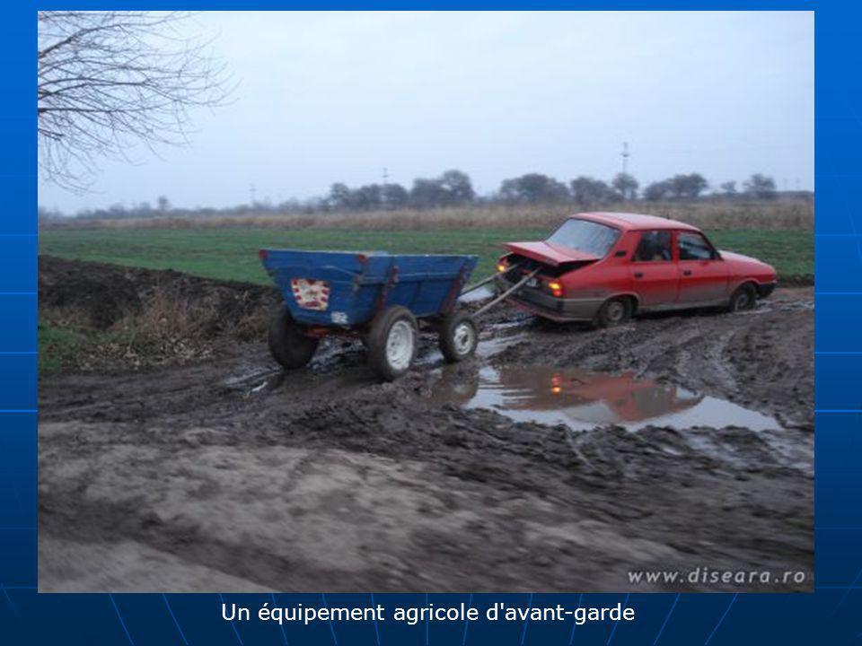 Un équipement agricole d'avant-garde