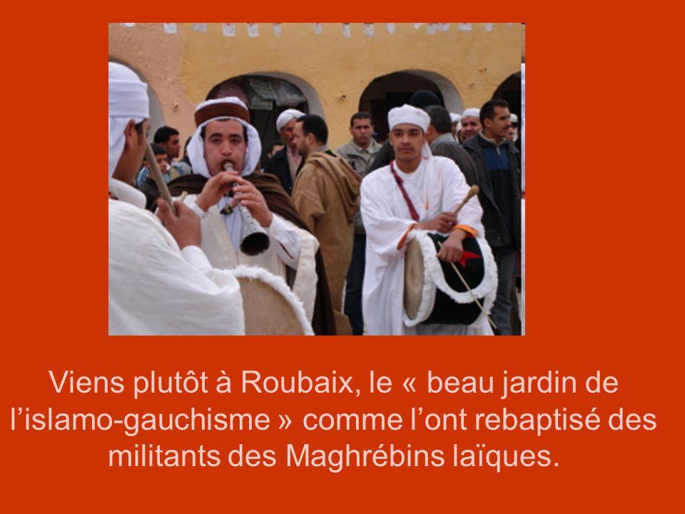 Son mari Jean-Louis Brochen est musulman et défend la cause des terroristes et notre cause.