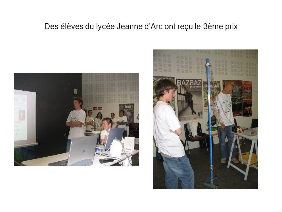 Des élèves du lycée Presles à Cusset ont réalisé une expérience sur le principe de linertie