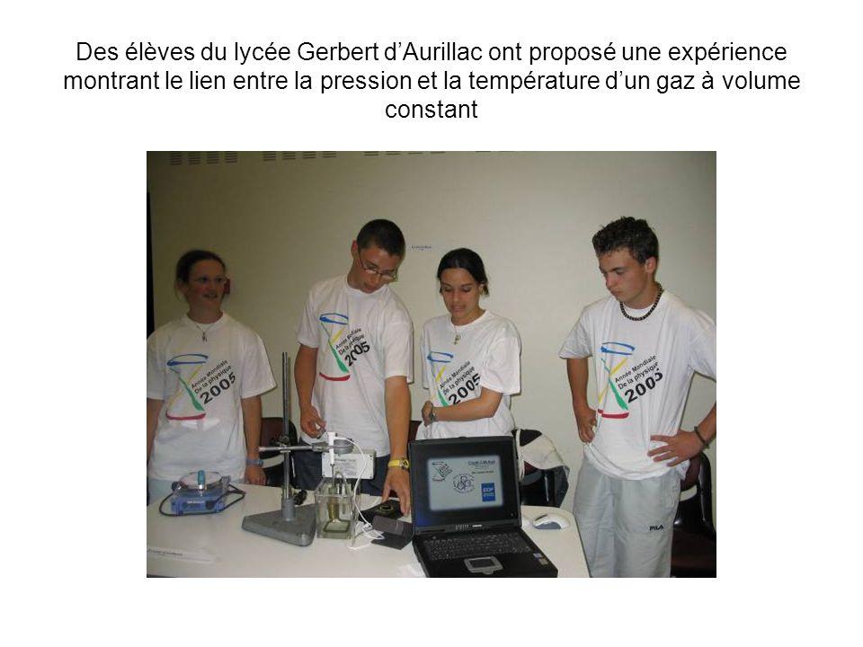 Des élèves du lycée Virlogeux de Riom ont réalisé des expériences liées au phénomène de linduction