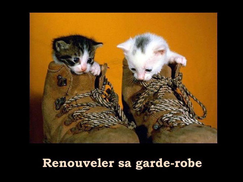 Renouveler sa garde-robe