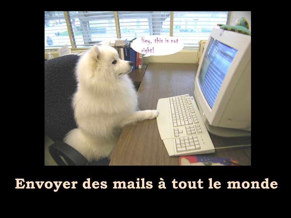 Envoyer des mails à tout le monde
