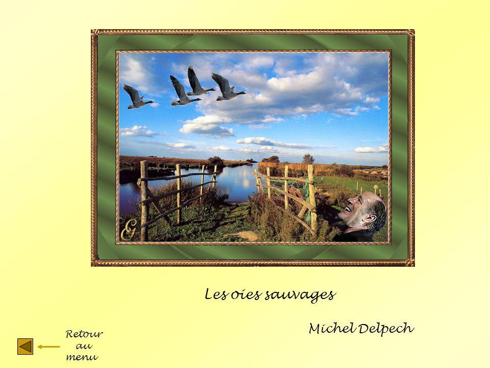 Les oies sauvages Michel Delpech Retour au menu