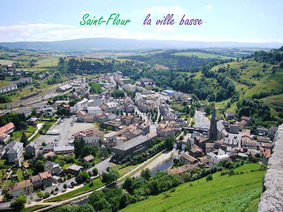 Lavigerie vue sur les Monts du Cantal