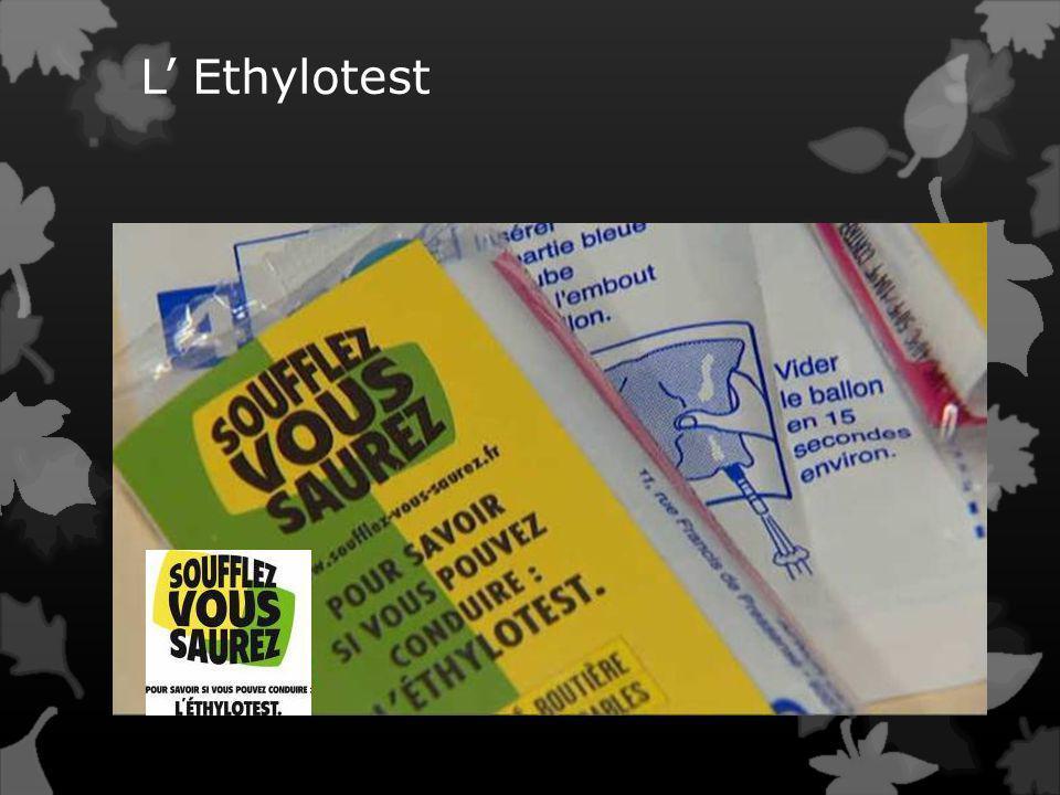 L Ethylotest obligatoire Dans les voitures à partir du 1er juillet 2012 'Tout conducteur d'un véhicule terrestre à moteur, à l'exclusion d'un cyclomot