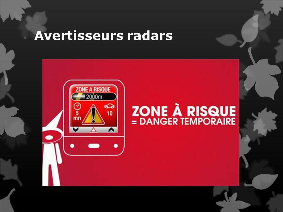 Avertisseurs radars