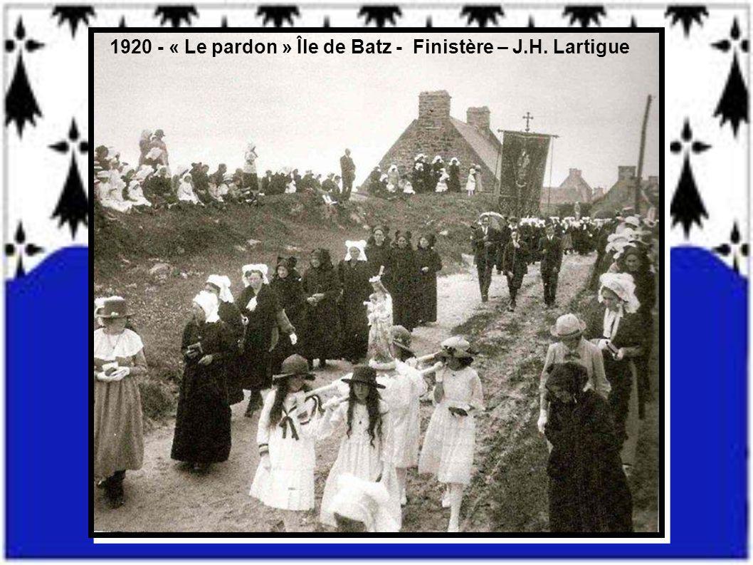 1910 Josselin - Morbihan - G.GIQUEL
