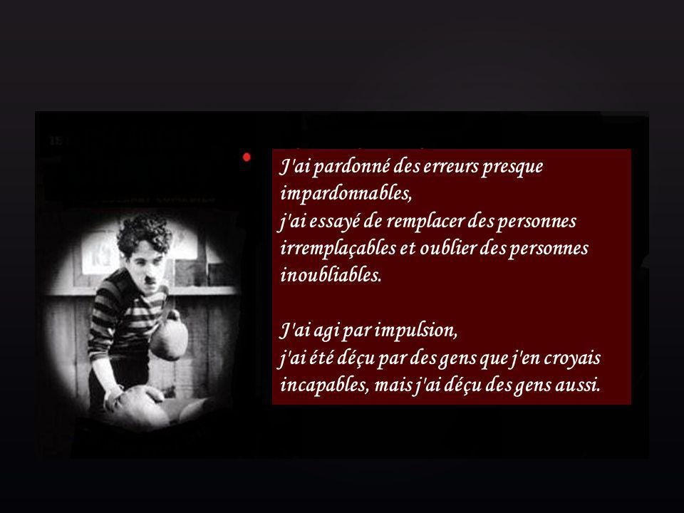 { Pensées de Mr Charlie Chaplin Ce diaporama Musical et Manuel est le 1 er de la série sur la vie de Mr Chaplin