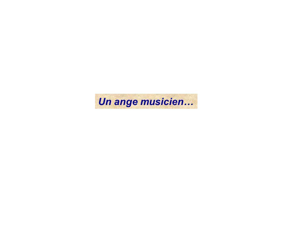Un ange musicien…