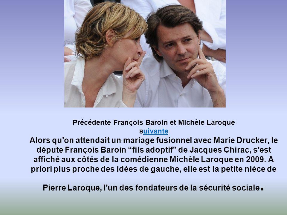 Leur couple aura été l'un des plus médiatiques de ces dernières années. Marie Drucker, la nièce de Michel Drucker, a été la fiancée du député chiraqui