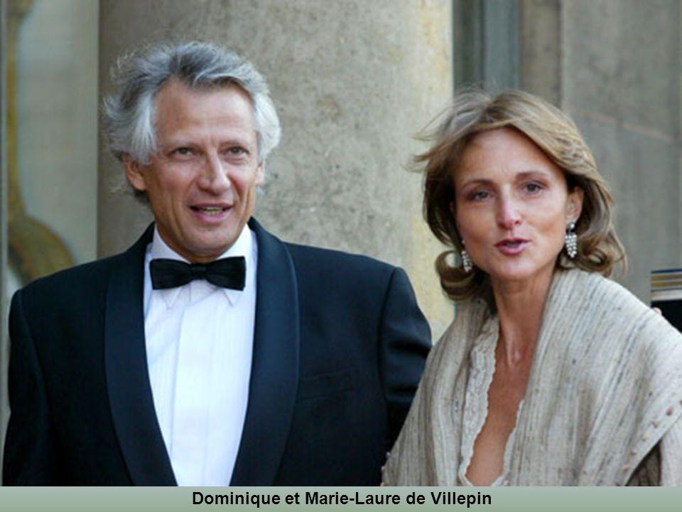 Femme de courage et femme d'audace. Marie-Laure de Villepin (née Le Guay), épouse de l'ancien Premier ministre depuis 1985, a été de tous les combats