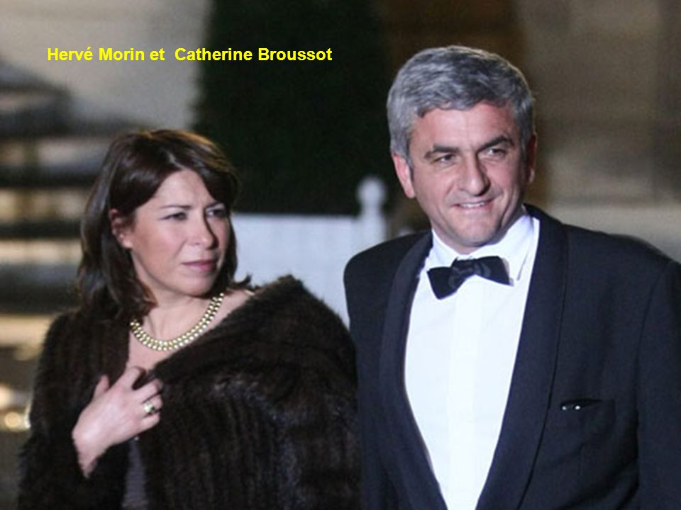 Avocate considérée comme une spécialiste en droit social, Catherine Broussot-Morin est sans doute moins connue que son mari Hervé, ministre de la Défe