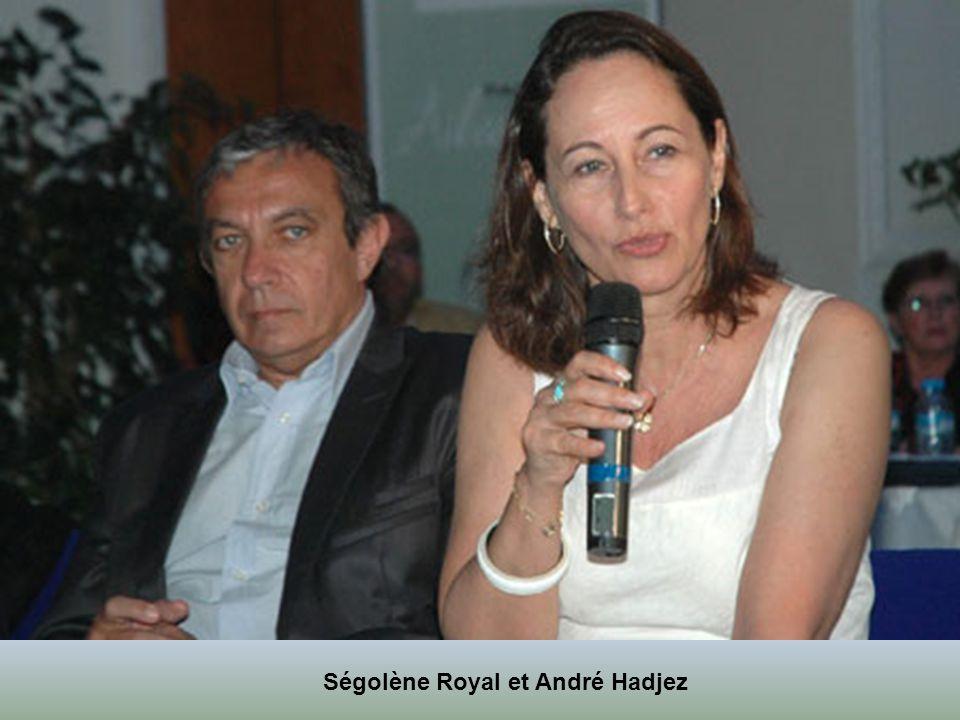 François Hollande et la nouvelle femme Valérie Trierweiler