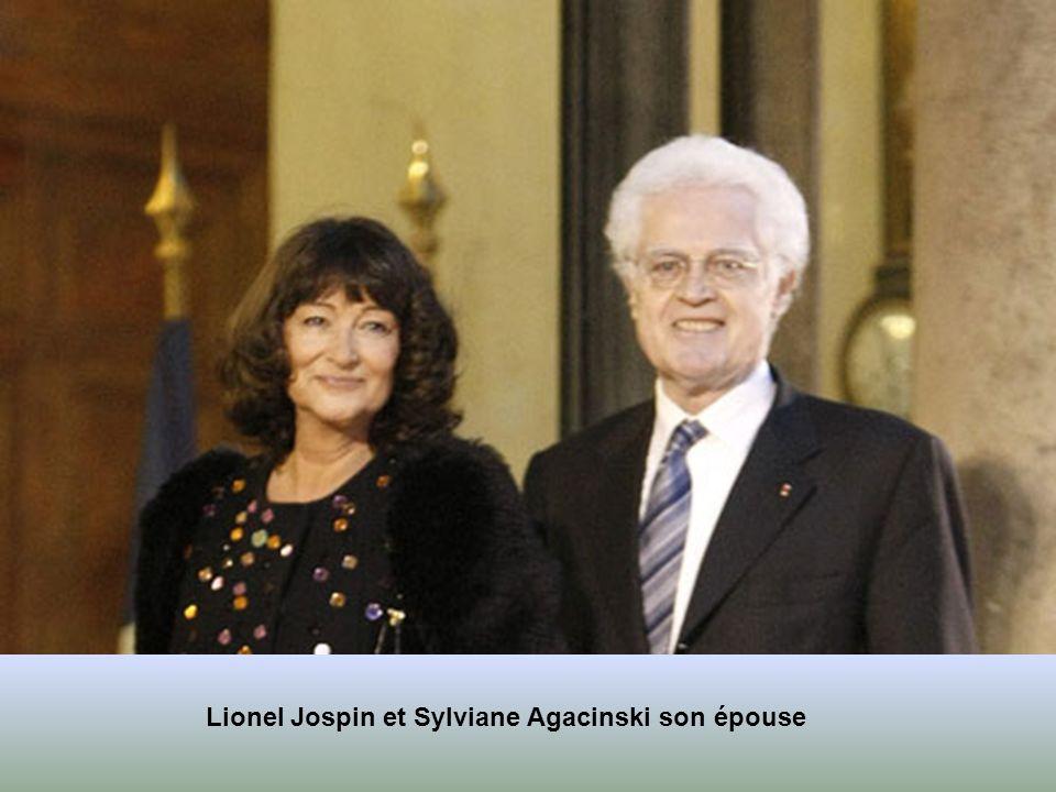 Jack Lang et son épouse Monique Lang