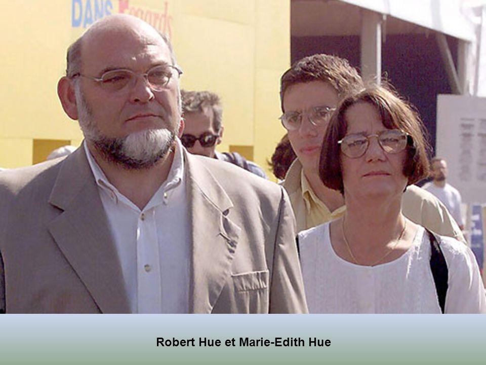 Lionel Jospin et Sylviane Agacinski son épouse