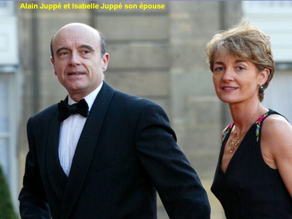 Robert Hue et Marie-Edith Hue