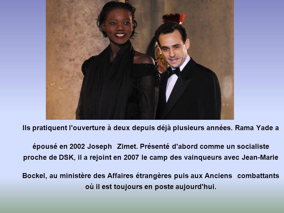 Ségolène Royal et François Hollande ont du plaisir