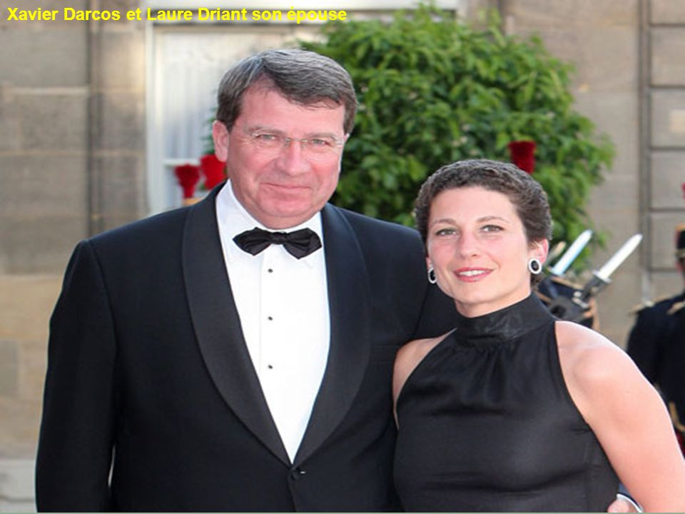 Eric Besson et Yasmine Tordjman Son épouse