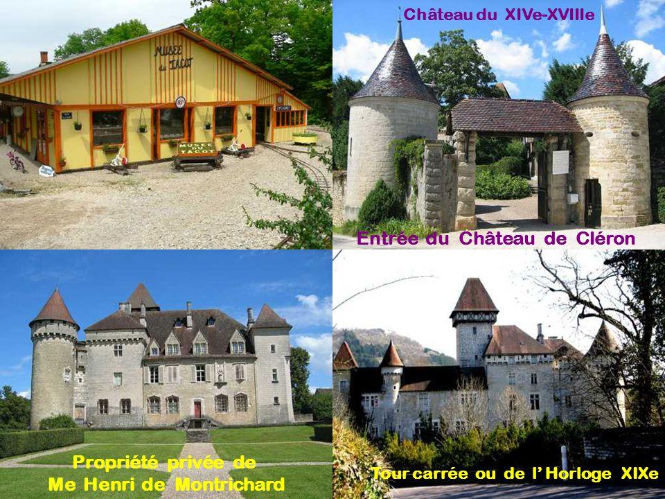 320 habitants - les Cléronais