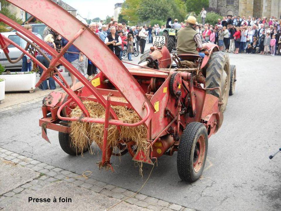 Moteur pour entrainement de matériel agricole.