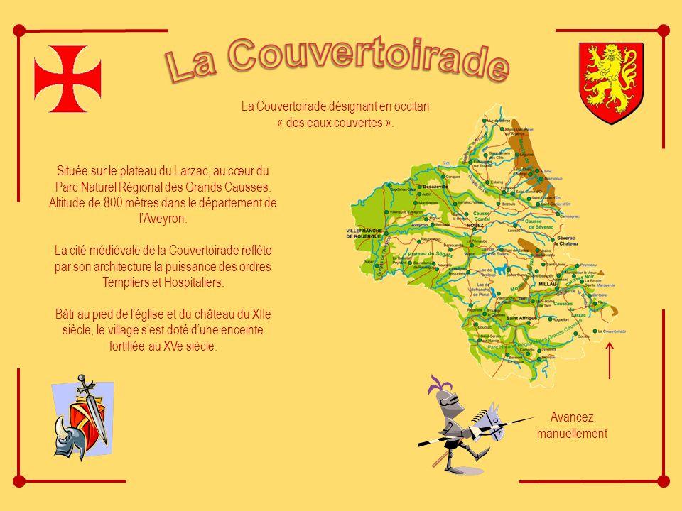 Située sur le plateau du Larzac, au cœur du Parc Naturel Régional des Grands Causses.