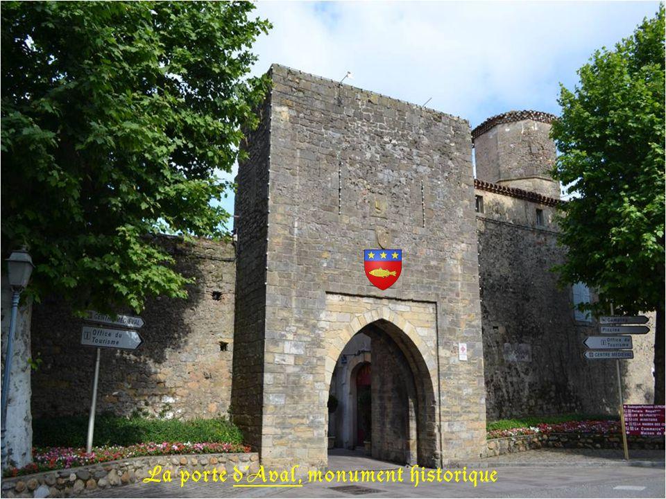 La porte dAval, monument historique