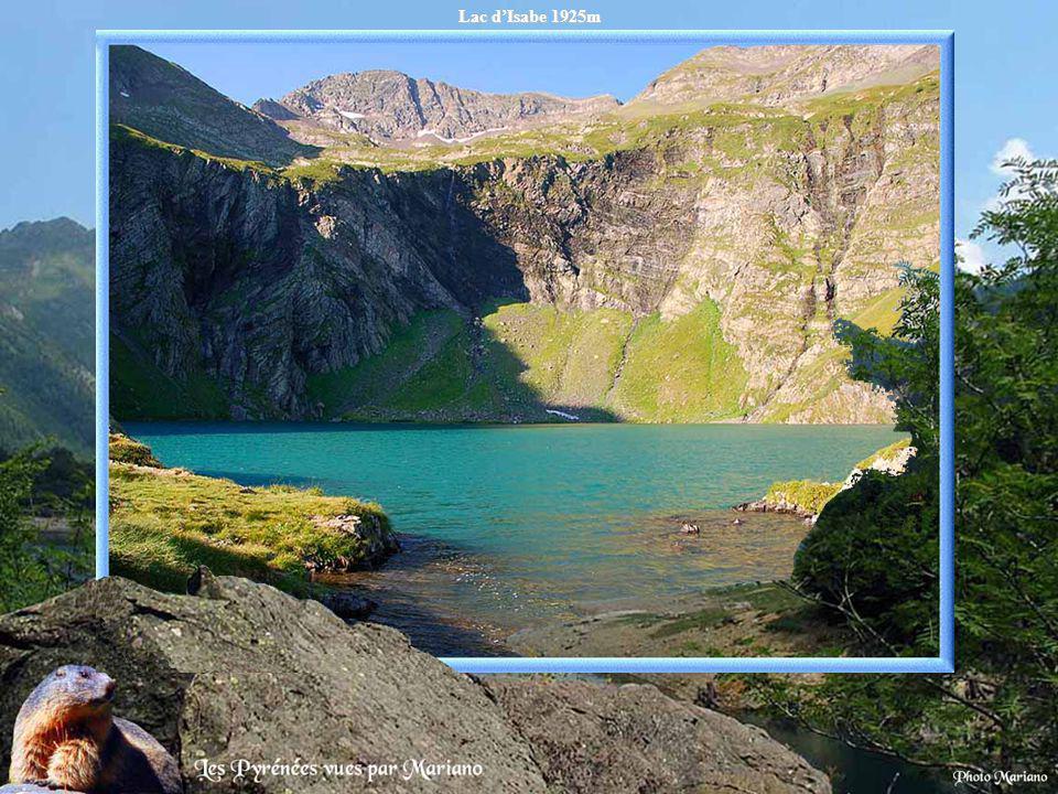 Lac du Lurien 2211m.