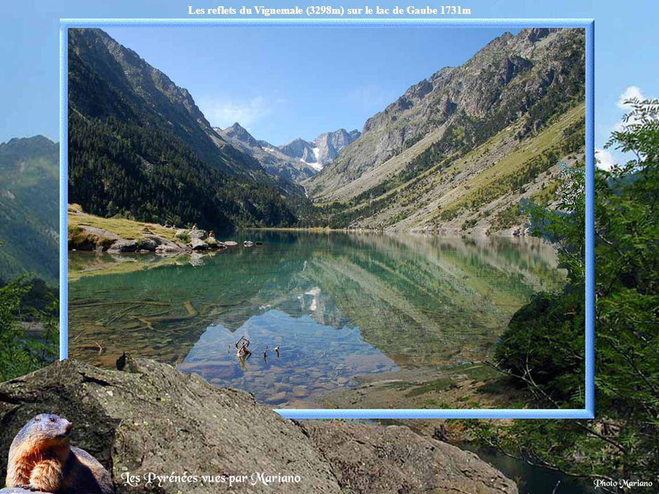 Lac de Castet 458m.