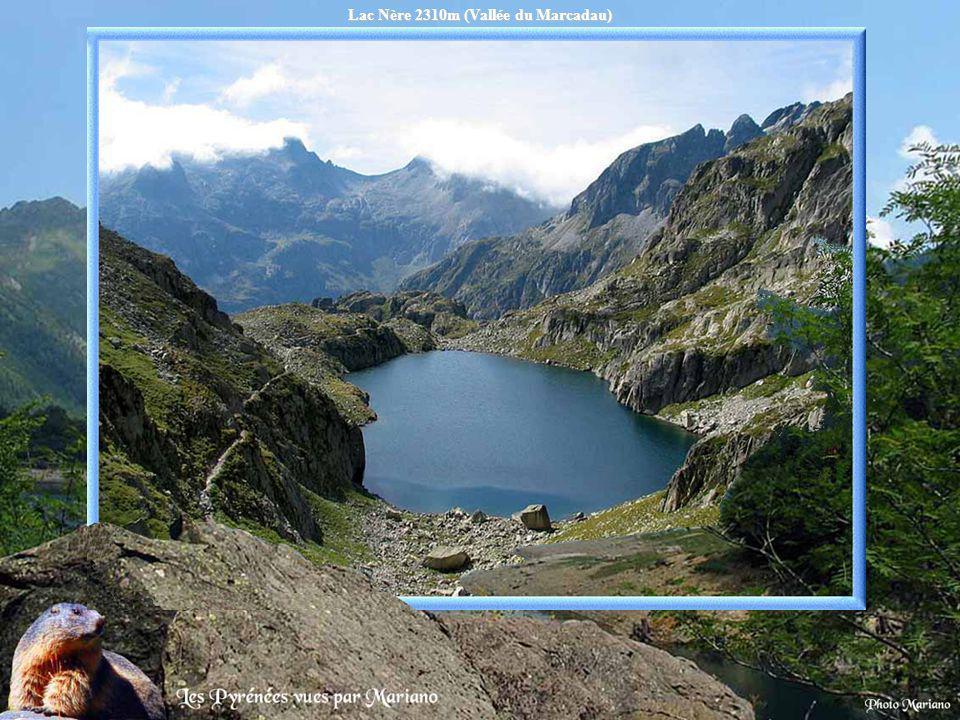 Lac du Pourtet 2420m.