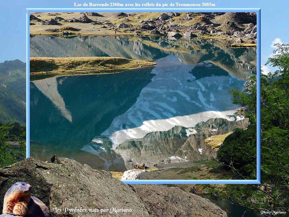 Lac de la Bernatoire 2336m.