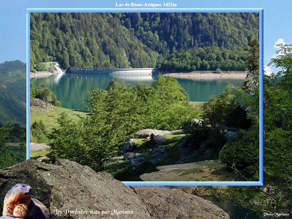 Lac de Bious-Artigues 1422m.