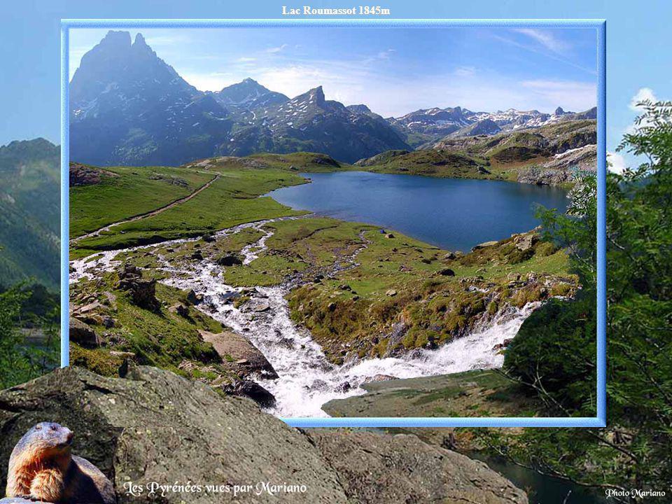 Lac dAumar 2203m.