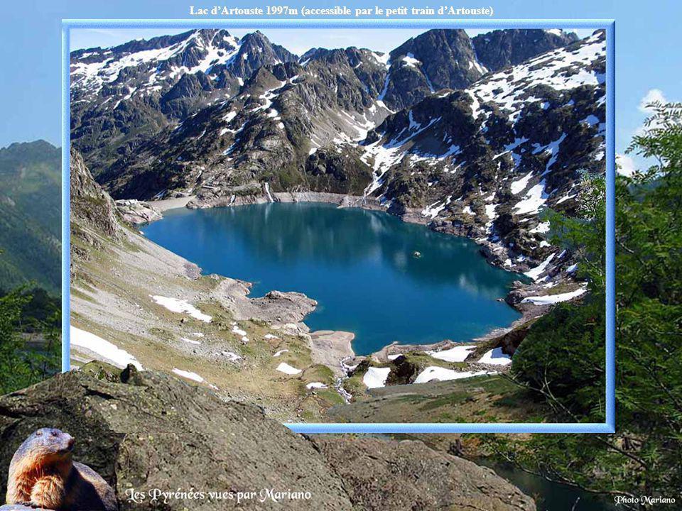 Grand lac de Nère 2430m (Luchonnais).