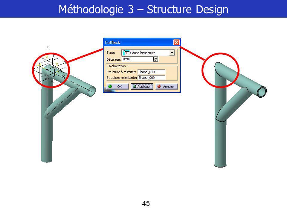 45 Méthodologie 3 – Structure Design