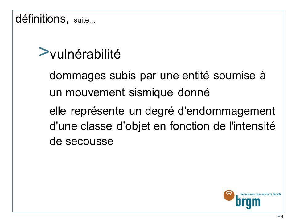 > 4 définitions, suite...