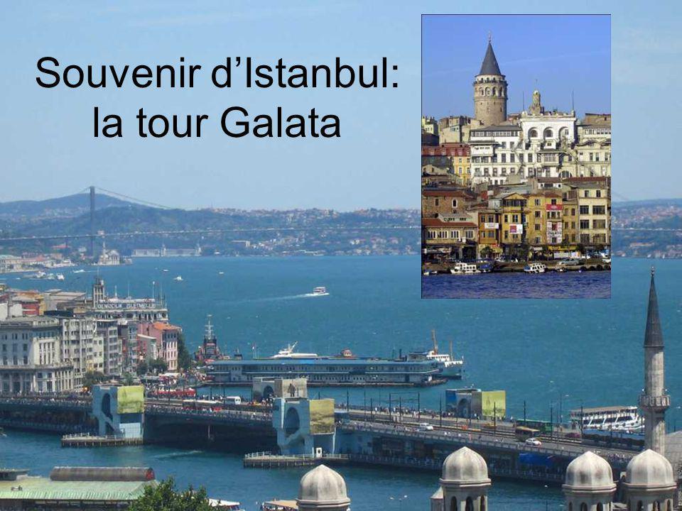 Souvenir dIstanbul: la tour Galata