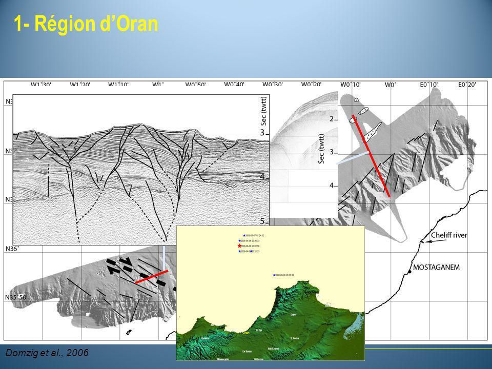 1- Région dOran Domzig et al., 2006