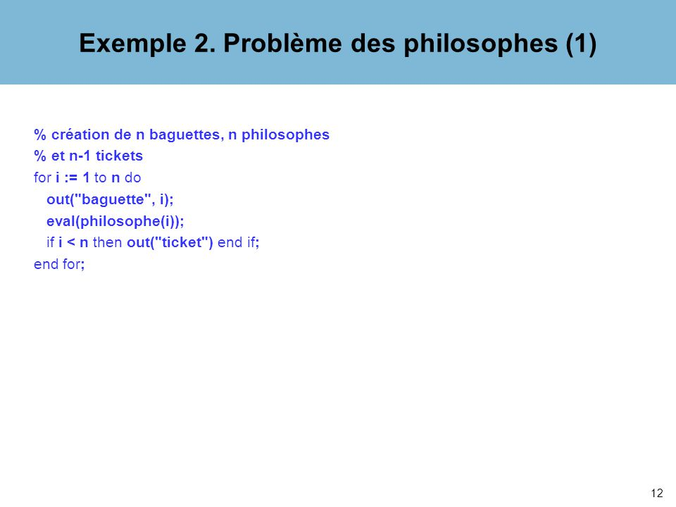 12 Exemple 2.