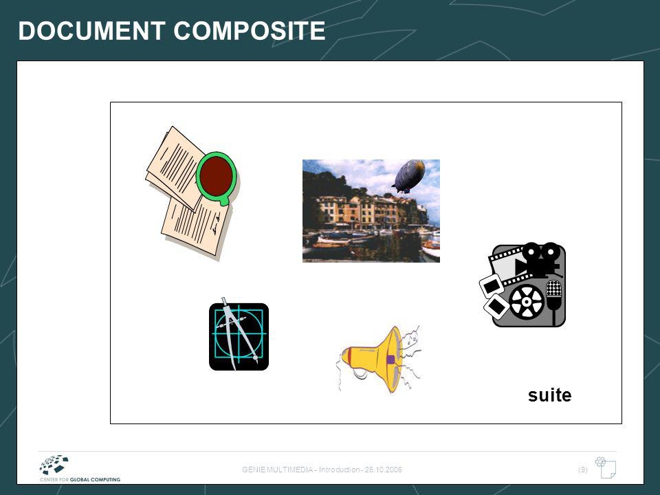 GENIE MULTIMEDIA - Introduction - 26.10.2006(9) DOCUMENT COMPOSITE suite
