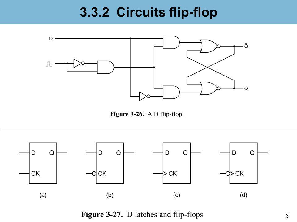 7 3.3.3 Registre Fig. 3-28a. Dual D flip-flop.