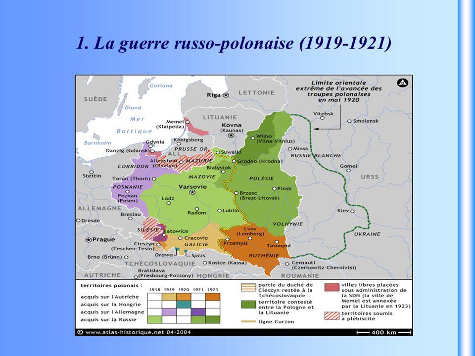 1. La guerre russo-polonaise (1919-1921)