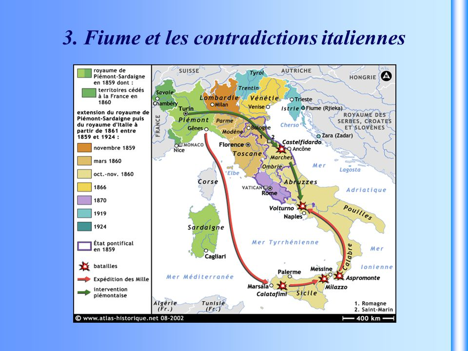 3. Fiume et les contradictions italiennes