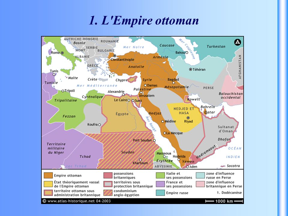 1. L'Empire ottoman