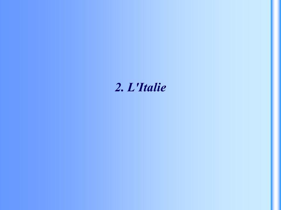 2. L'Italie