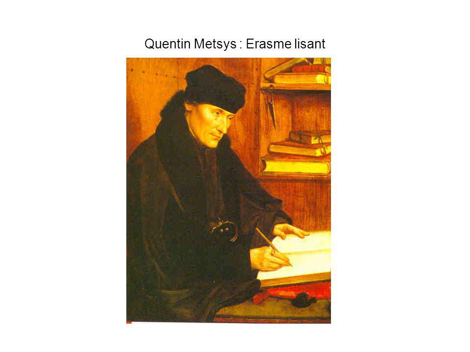 Quentin Metsys : Erasme lisant
