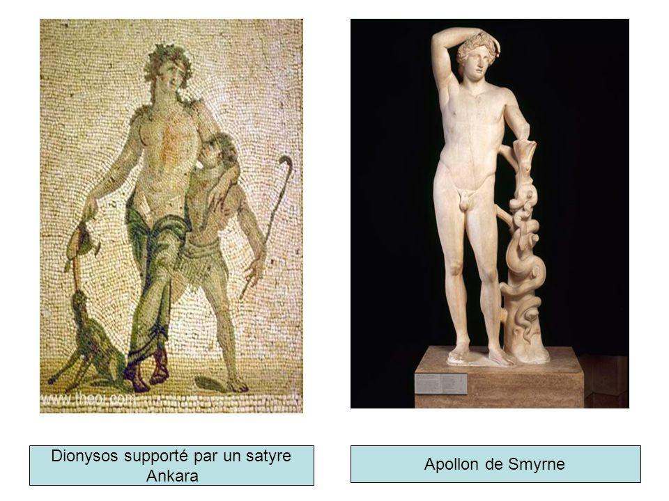 Dionysos supporté par un satyre Ankara Apollon de Smyrne