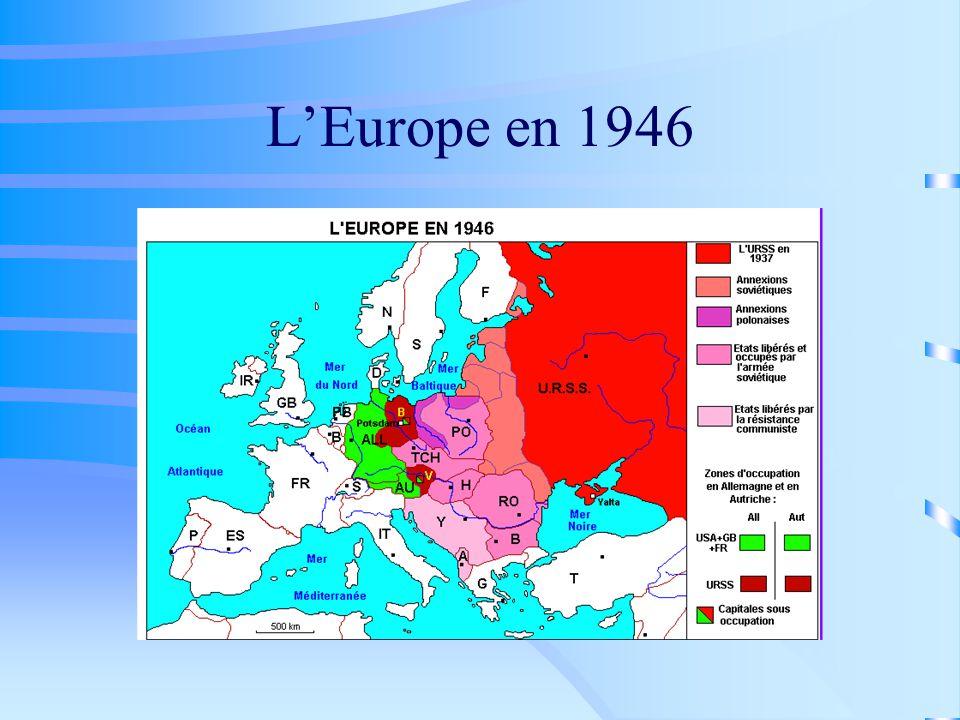 LEurope en 1946