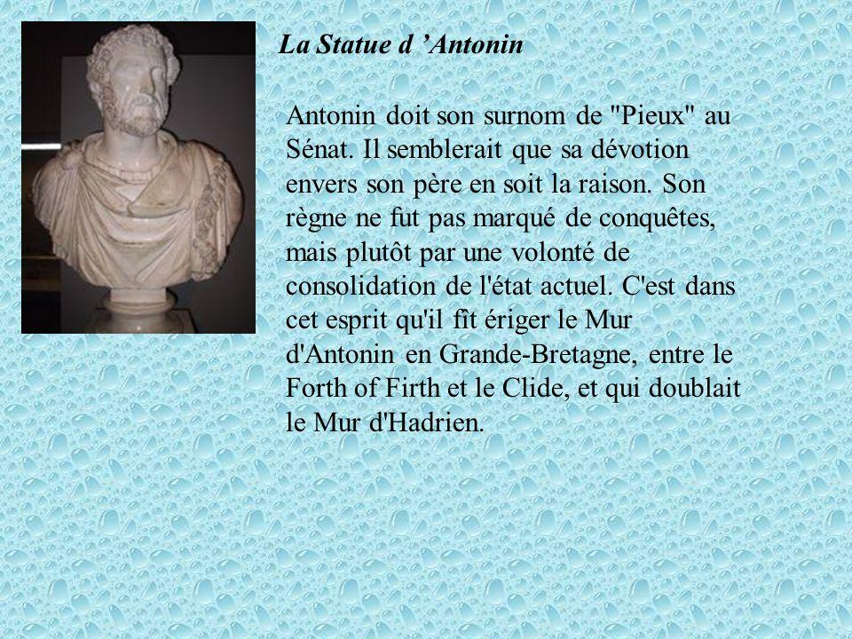 La Statue d Antonin Antonin doit son surnom de