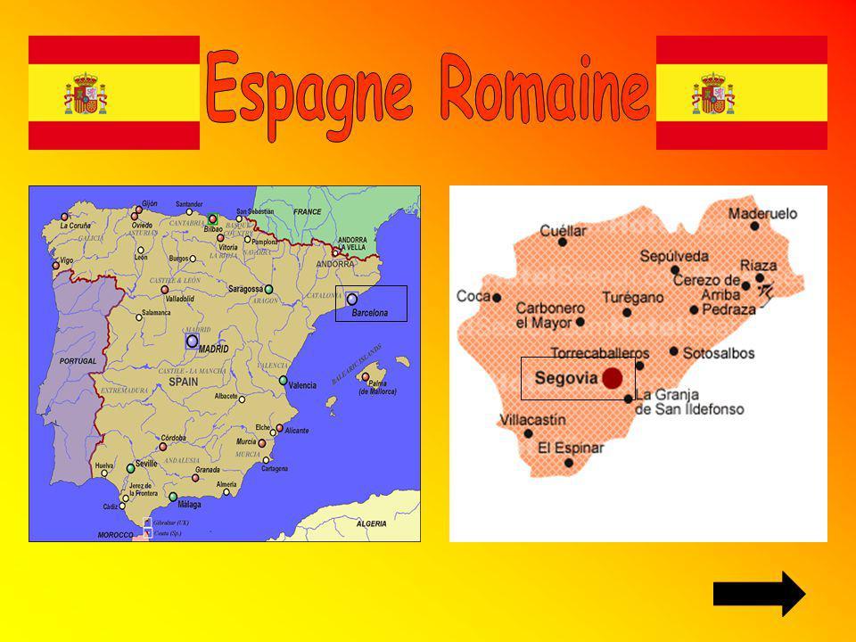Les murailles qui protégeaient Barcelone a lépoque romaine est le monument que visuellement attirait ton attention.